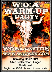 W:O:A Warm-Up Party